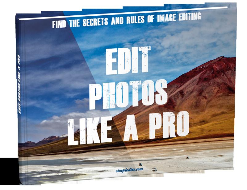 Photo editing eBook Edit Photos Like A Pro