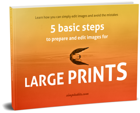 Free photo editing eBook 5 simple steps