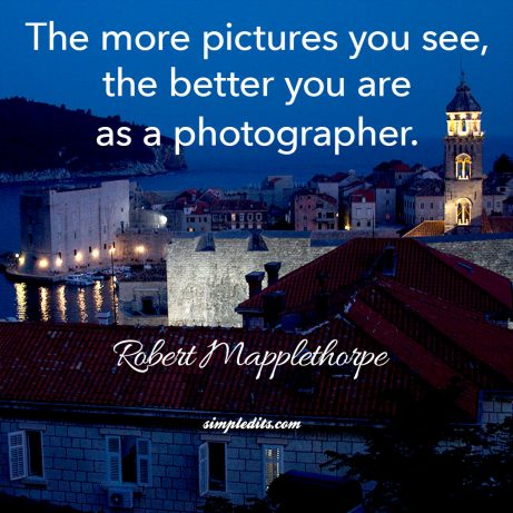 Photography quote by Robert Mapplethorp