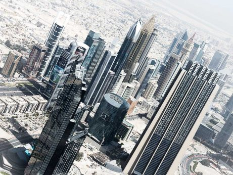 Dubai city_from Burj Khalifa_instagram