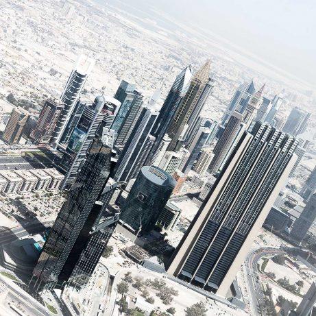 Dubai city_from Burj Khalifa_instagram
