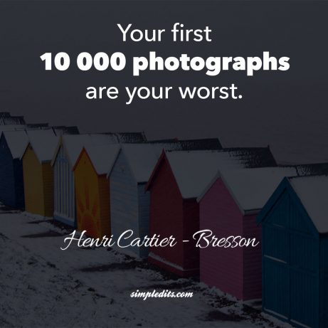 Photography quote by Henri Cartier - Bresson