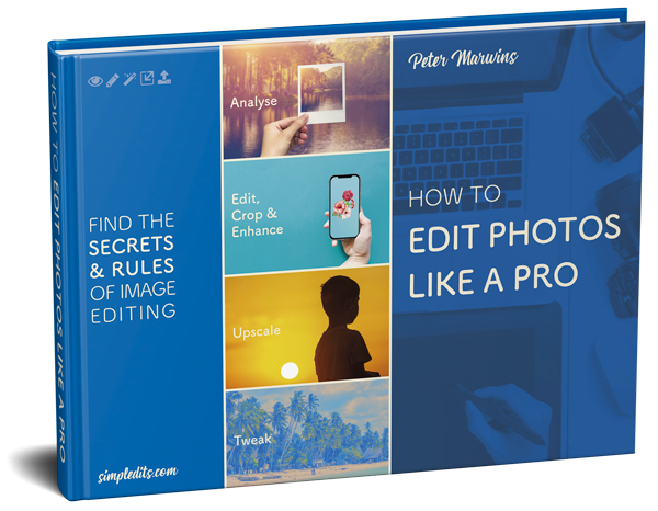 Photo editing eBook cover How to edit photos like a pro