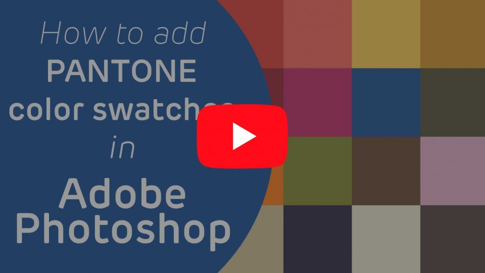 color panton swatches for adobe photoshop