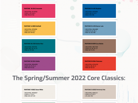 Pantone Colors Spring Summer 2022 png